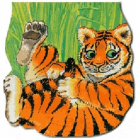 Great Tiger (Large Board Book) نمري