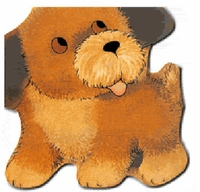 Great Puppy (Large Board Book) كلبي