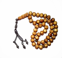 Tisbah Beads - Prayer Beads - 45 Pine Beads - Scented Wood