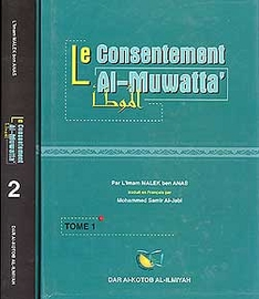 Le Consentement al-Muwatta 2 vol