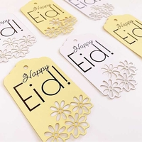 Event Decor: Lace Tags - White (Set of 6)