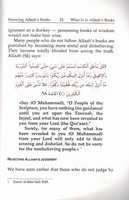 Knowing Allah's Books & the Quran