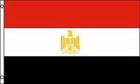 Flag of Egypt: 3 x 5 ft.