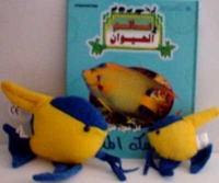 My Animal Kingdom - Angel Fish (book and plush animals)  كل شيء عن السمك الملائكي