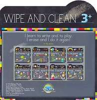 Wipe and Clean: Opposites