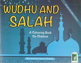 Colouring Book of Wudhu and Salah (En)