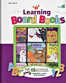 Learning Board Books 12 books (English)