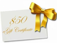 eGift Certificate for $50
