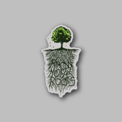 Caf Know Your Roots - Vinyl Stickers - Marijuana Stickers