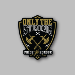 RCH Only The Strong Sticker - Vinyl Stickers - Marijuana Stickers