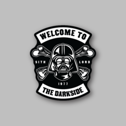 RCH Welcome To The Darkside Sticker - Vinyl Stickers - Marijuana Stickers