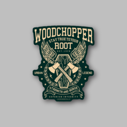 RCH Woodchopper RCHWoodchopper Sticker - Vinyl Stickers - Marijuana Stickers