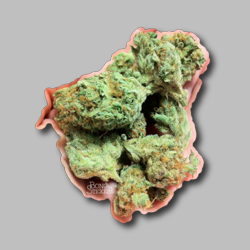 Barabara Bud Sticker - Marijuana Sticker