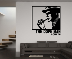 The Dope Man Drugs & Alcohol Vinyl Decal Sticker 017