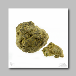 Moon Rock Hash - Marijuana Sticker 003