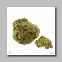 Moon Rock Hash - Marijuana Sticker 004