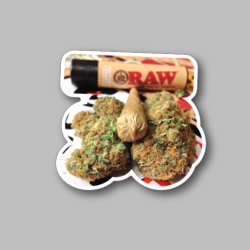 Joint And Nugs Vinyl Sticker