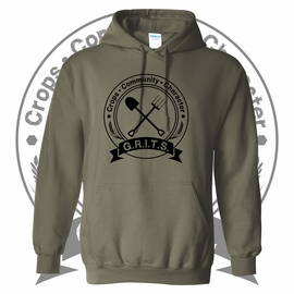 G.R.I.T.S. Hooded Sweatshirt. 18500.