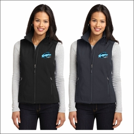 Ridgeline Staff Port Authority Ladies Core Soft Shell Vest. L325.