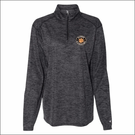 Rainier Elementary Staff Badger Tonal Blend Women's Quarter-Zip Pullover. 4173.