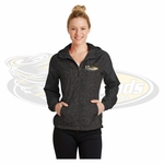 Yelm MS Staff Sport-Tek Ladies Heather Colorblock Raglan Hooded Wind Jacket. LST40.