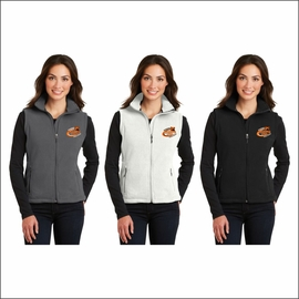 Rainier MS Staff Port Authority Ladies Value Fleece Vest. L219.