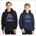 Olympia Silverbacks Hooded Sweatshirt. 18500.