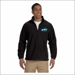 Ridgeline Staff Harriton Men's 8 oz. Full-Zip Fleece. M990.