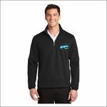 Ridgeline Staff Port Authority Active 1/2-Zip Soft Shell Jacket. J716.