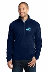 Ridgeline Staff Port Authority Microfleece 1/2-Zip Pullover. F224.