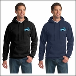Ridgeline Staff Port & Company Tall Essential Fleece Pullover Hooded Sweatshirt. PC90HT.