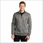 Rainier MS Staff Sport-Tek PosiCharge Electric Heather Fleece 1/4-Zip Pullover. ST226.