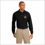 Rainier Elementary Staff Port Authority Rapid Dry Long Sleeve Polo. K455LS.