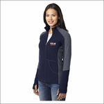 Yelm Twisters Ladies Colorblock Microfleece Jacket. L230.