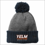 Yelm Twisters Colorblock Cuffed Beanie. NE904.