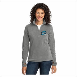 Ridgeline Staff Port Authority Ladies Microfleece 1/2-Zip Pullover. L224.