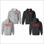 Yelm CTE Apparel Full-Zip Hooded Sweatshirt. 18600.