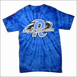 Ridgeline Staff  Spider Royal Tie-Dye T-Shirt.
