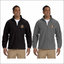 Rainier Elementary Staff Harriton Men's 8 oz. Full-Zip Fleece. M990.