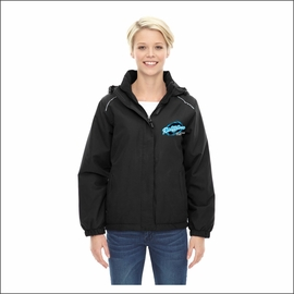 Ridgeline Staff Ash City - Core 365 Ladies' Brisk Insulated Jacket. 78189.