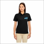 Ridgeline Staff Ash City - Core 365 Ladies' Origin Performance Piqué Polo. 78181.