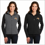 Rainier HS Staff Port Authority Ladies Value Fleece Vest. L219.