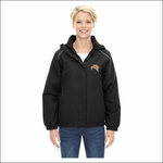 Rainier HS Staff Ash City - Core 365 Ladies' Brisk Insulated Jacket. 78189.
