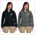 Rainier HS Staff Harriton Ladies' 8 oz. Full-Zip Fleece. M990W.