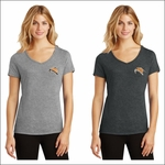 Rainier HS Staff District Made Ladies Perfect Tri V-Neck Tee. DM1350L.