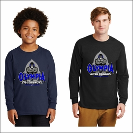 Olympia Silverbacks Long Sleeve T-Shirt. 2400.
