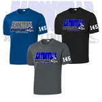 Eatonville HS Wrestling Performance Dri-Fit Tee. ST350.
