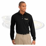 Yelm MS Staff Port Authority Tall Rapid Dry Long Sleeve Polo. TLK455LS.