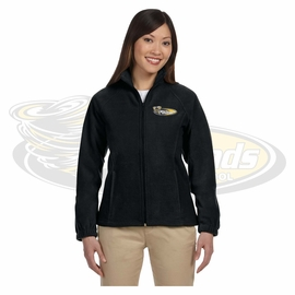 Yelm MS Staff Harriton Ladies' 8 oz. Full-Zip Fleece. M990W.