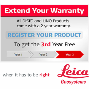 Leica Disto / Lino Warranty